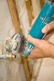 αλέθοντας υδραυλικός &sigm Στοκ Εικόνες