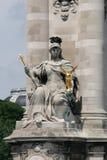Αλέξανδρος ΙΙΙ Παρίσι pont στοκ εικόνες