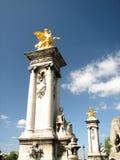 Αλέξανδρος ΙΙΙ Παρίσι pont sena στοκ φωτογραφίες με δικαίωμα ελεύθερης χρήσης