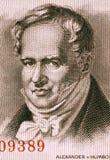 Αλέξανδρος von Humboldt Στοκ εικόνα με δικαίωμα ελεύθερης χρήσης