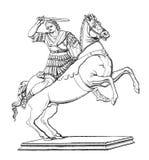 Αλέξανδρος μεγάλος Στοκ εικόνα με δικαίωμα ελεύθερης χρήσης