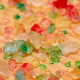 Αλατισμένα κρύσταλλα θάλασσας στην επιτροπή στοκ φωτογραφία με δικαίωμα ελεύθερης χρήσης
