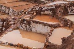 Αλατισμένα ορυχεία Maras Στοκ Εικόνες