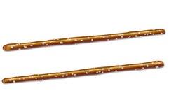 αλατισμένα pretzel ραβδιά Στοκ φωτογραφίες με δικαίωμα ελεύθερης χρήσης