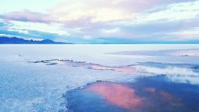 Αλατισμένη λίμνη Στοκ εικόνες με δικαίωμα ελεύθερης χρήσης