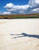 αλατισμένη σκιά λιμνών κορ&iot Στοκ φωτογραφία με δικαίωμα ελεύθερης χρήσης