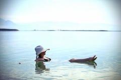 αλατισμένο κολυμπώντας χρήσιμο wate Στοκ Φωτογραφία