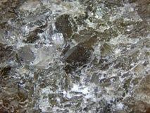 Αλατισμένο κρύσταλλο Στοκ φωτογραφία με δικαίωμα ελεύθερης χρήσης