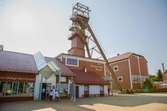 Αλατισμένο ορυχείο σε Bochnia στην Πολωνία, Ευρώπη στοκ φωτογραφία με δικαίωμα ελεύθερης χρήσης