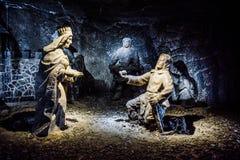 Αλατισμένο ορυχείο στοκ φωτογραφία με δικαίωμα ελεύθερης χρήσης