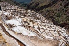 Αλατισμένο ορυχείο Maras στοκ εικόνα με δικαίωμα ελεύθερης χρήσης