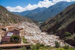 Αλατισμένο ορυχείο Maras στοκ φωτογραφίες