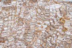 Αλατισμένο ορυχείο Maras στοκ εικόνα