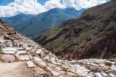 Αλατισμένο ορυχείο Maras στοκ φωτογραφία με δικαίωμα ελεύθερης χρήσης
