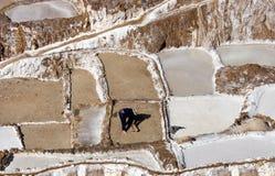 αλατισμένο urubamba του Περού π&alph Στοκ φωτογραφία με δικαίωμα ελεύθερης χρήσης