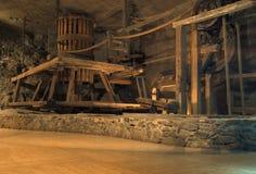 αλατισμένο wieliczka ορυχείων στοκ εικόνες με δικαίωμα ελεύθερης χρήσης