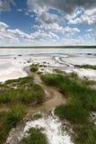 αλατοποίηση λιμνών Στοκ εικόνα με δικαίωμα ελεύθερης χρήσης