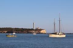 Αλγκάρβε, η διάσημη περιοχή στην Πορτογαλία Στοκ Φωτογραφία