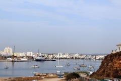 Αλγκάρβε, η διάσημη περιοχή στην Πορτογαλία Στοκ φωτογραφία με δικαίωμα ελεύθερης χρήσης