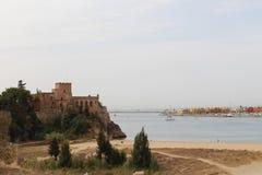 Αλγκάρβε, η διάσημη περιοχή στην Πορτογαλία Στοκ εικόνες με δικαίωμα ελεύθερης χρήσης