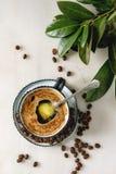 Αλεξίσφαιρος καφές με το βούτυρο στοκ φωτογραφίες με δικαίωμα ελεύθερης χρήσης