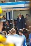 ΑΛΕΞΑΝΔΡΟΎΠΟΛΗ, ΕΛΛΑΔΑ 14 ΜΑΐΟΥ 2018: Ελληνικός Πρόεδρος Prokopis Pav Στοκ Εικόνες