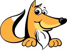 αλεπού χαρακτήρα Στοκ Φωτογραφία