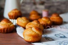 Αληθινό γαλλικό brioche πλούσιο βούτυρο ψωμιού Στοκ φωτογραφίες με δικαίωμα ελεύθερης χρήσης