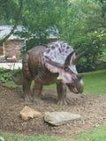 Αληθοφανές καφετί Triceratops Στοκ Φωτογραφία