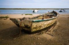 αλιεία βαρκών μικρή στοκ εικόνες με δικαίωμα ελεύθερης χρήσης