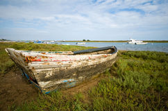αλιεία βαρκών παραλιών στοκ φωτογραφίες με δικαίωμα ελεύθερης χρήσης