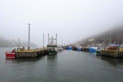 αλιεία βαρκών που δένετα&iot Στοκ φωτογραφία με δικαίωμα ελεύθερης χρήσης