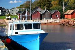 αλιεία βαρκών Στοκ Εικόνα