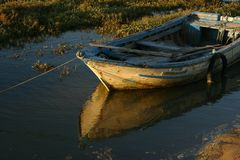 αλιεία βαρκών Στοκ εικόνες με δικαίωμα ελεύθερης χρήσης