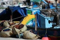 αλιεία εξοπλισμού Στοκ Εικόνα