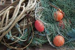 αλιεία εξοπλισμού στοκ φωτογραφία