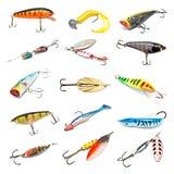αλιεία συλλογής δολωμάτων στοκ εικόνα