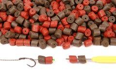 Αλιεία του δολώματος με το γάντζο στοκ εικόνα με δικαίωμα ελεύθερης χρήσης