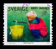 Αλιεία, τύχη ψαράδων ` s serie, circa 2007 Στοκ φωτογραφίες με δικαίωμα ελεύθερης χρήσης