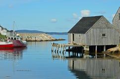 αλιεία όρμων Στοκ εικόνα με δικαίωμα ελεύθερης χρήσης