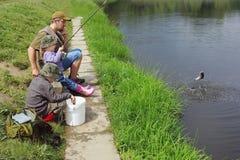 αλιεία Στοκ Εικόνα
