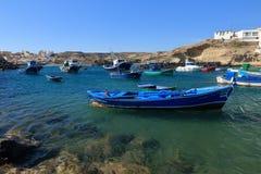 Αλιευτικά σκάφη σε Tajao, Tenerife στοκ φωτογραφίες