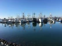 Αλιευτικά σκάφη του Σαν Ντιέγκο στοκ φωτογραφίες