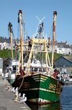 αλιευτικό πλοιάριο Στοκ εικόνα με δικαίωμα ελεύθερης χρήσης