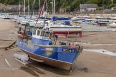 Αλιευτικό σκάφος αστακών στοκ εικόνα με δικαίωμα ελεύθερης χρήσης