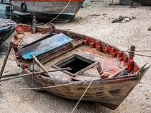 Αλιευτικό σκάφος στην Ταϊλάνδη στο λιμάνι Στοκ Εικόνες