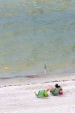 αλιεύοντας άτομο Στοκ Φωτογραφία