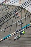 αλιεύοντας αθλητισμός Στοκ Εικόνες