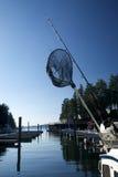 αλιεύοντας αθλητισμός &lambd Στοκ φωτογραφία με δικαίωμα ελεύθερης χρήσης