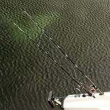αλιεύοντας γιοτ Στοκ Φωτογραφία